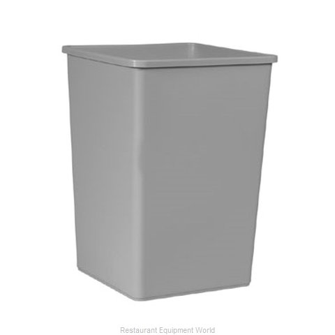 Rubbermaid FG395800GRAY Trash Garbage Waste Container Stationary
