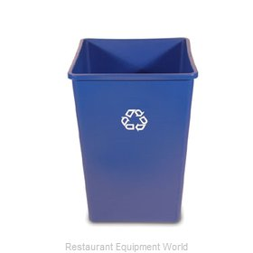 Rubbermaid FG395873BLUE Waste Receptacle Recycle