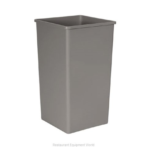 Rubbermaid FG395900GRAY Trash Garbage Waste Container Stationary