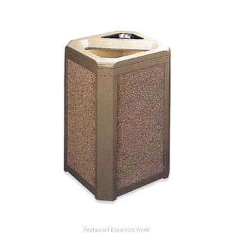 Rubbermaid FG396600DWOOD Waste Receptacle Outdoor