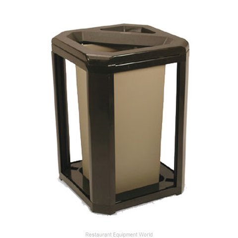 Rubbermaid FG396600SBLE Ash Tray Receptacle