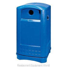 Rubbermaid FG396873BLUE Recycling Receptacle / Container