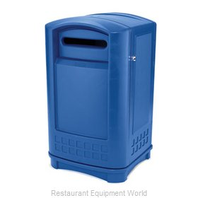 Rubbermaid FG396973BLUE Recycling Receptacle / Container