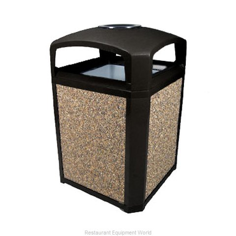 Rubbermaid FG397001BLA Waste Receptacle Outdoor