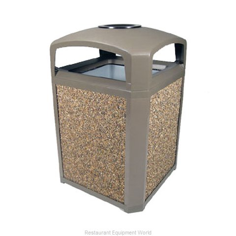 Rubbermaid FG397001DWOOD Waste Receptacle Outdoor
