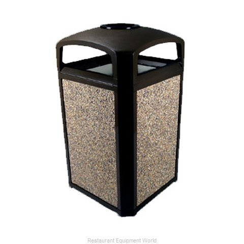 Rubbermaid FG397501BLA Waste Receptacle Outdoor