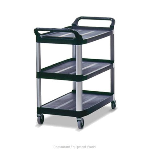 Rubbermaid FG409100BLA Utility Cart (Magnified)
