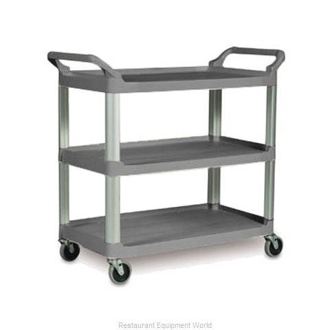 Rubbermaid FG409100GRAY Utility Cart (Magnified)