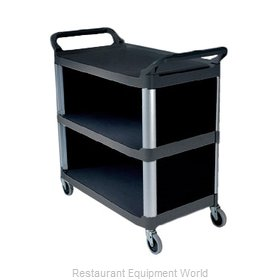Rubbermaid FG409300BLA Utility Cart