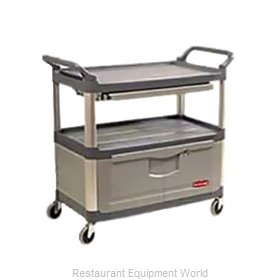 Rubbermaid FG409400GRAY Cart, Transport Utility