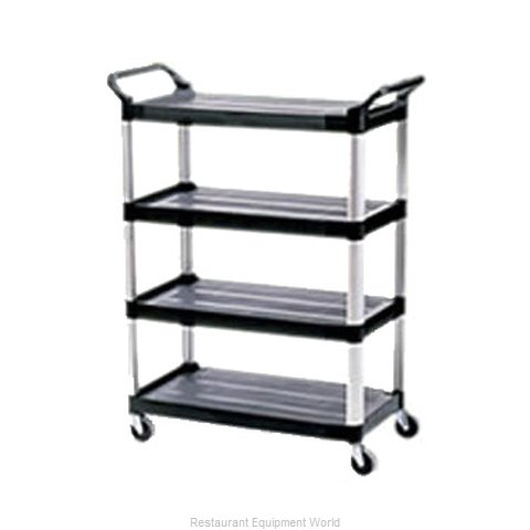 Rubbermaid FG409600BLA Utility Cart (Magnified)