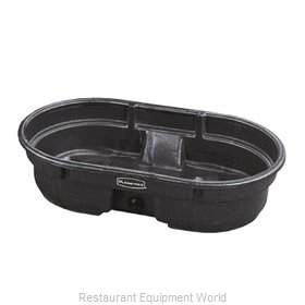 Rubbermaid FG424300BLA Stock Tank