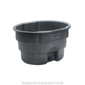 Rubbermaid FG424400BLA Stock Tank