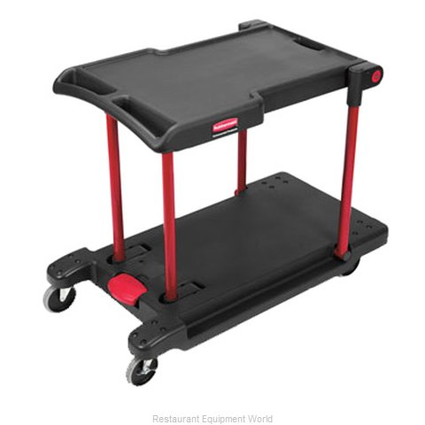 Rubbermaid FG430000BLA Utility Cart (Magnified)