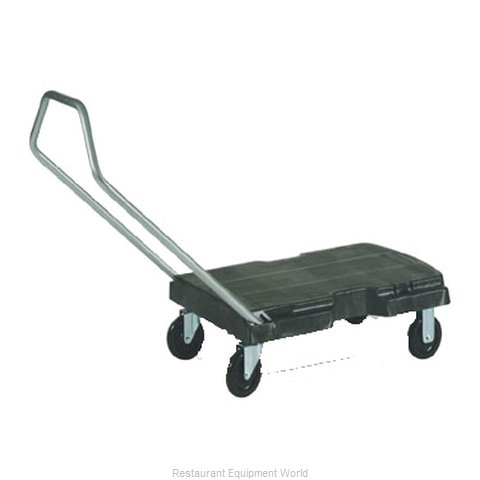 Rubbermaid FG440100BLA Truck Platform (Magnified)