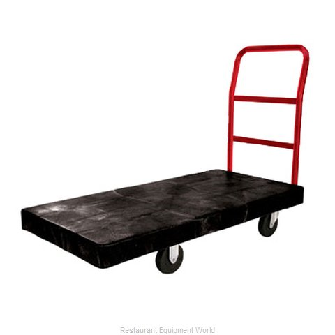 Rubbermaid FG444100BLA Truck Platform (Magnified)