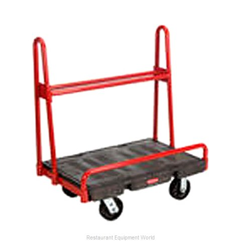 Rubbermaid FG446200BLA Truck, Platform (Magnified)