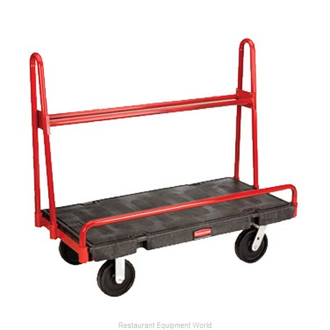 Rubbermaid FG446300BLA Truck Platform (Magnified)