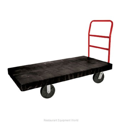Rubbermaid FG447100BLA Truck Platform (Magnified)