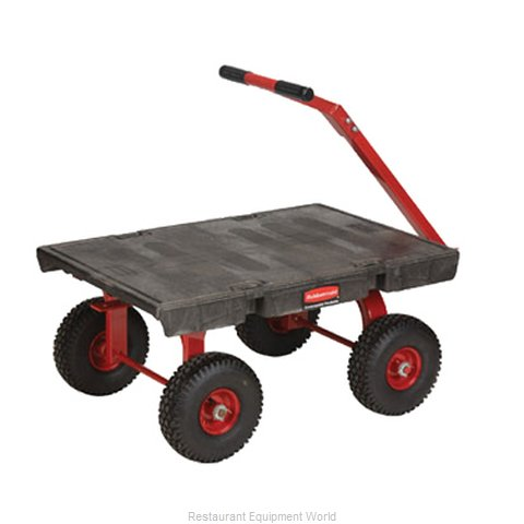Rubbermaid FG447500BLA Truck, Platform (Magnified)