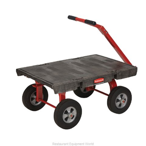 Rubbermaid FG447600BLA Truck, Platform (Magnified)
