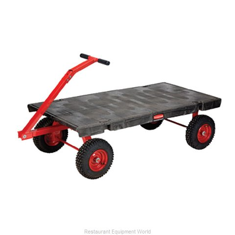 Rubbermaid FG447900BLA Truck, Platform (Magnified)