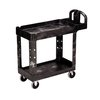 Cart, Bussing Utility Transport, Plastic