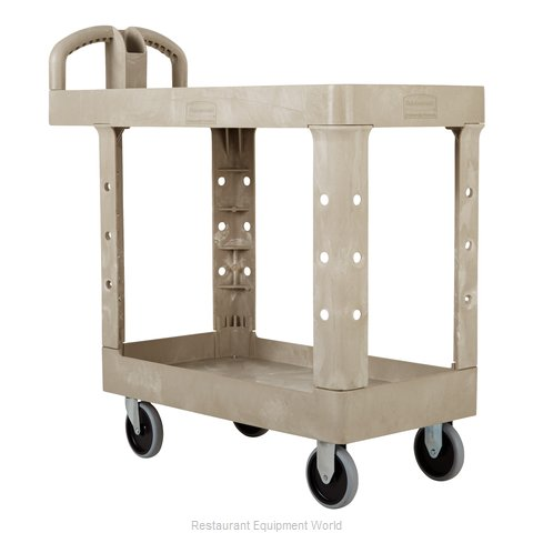 Rubbermaid FG450500BEIG Utility Cart (Magnified)