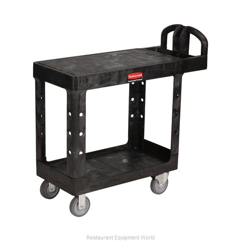 Rubbermaid FG450500BLA Utility Cart