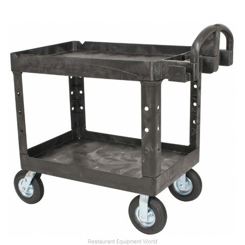 Rubbermaid FG452010BLA Utility Cart (Magnified)