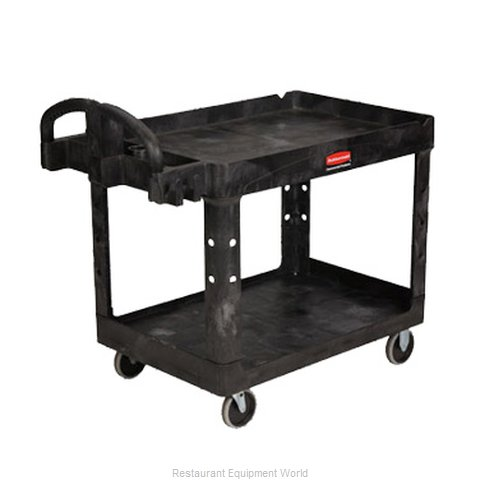 Rubbermaid FG452088BLA Utility Cart (Magnified)