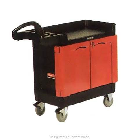 Rubbermaid FG453288BLA Cart, Maintenance (Magnified)