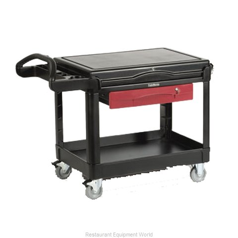 Rubbermaid FG453588BLA Utility Cart