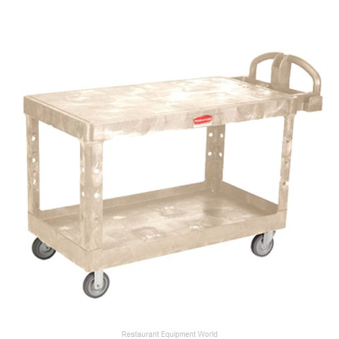 Rubbermaid FG454500BEIG Utility Cart (Magnified)