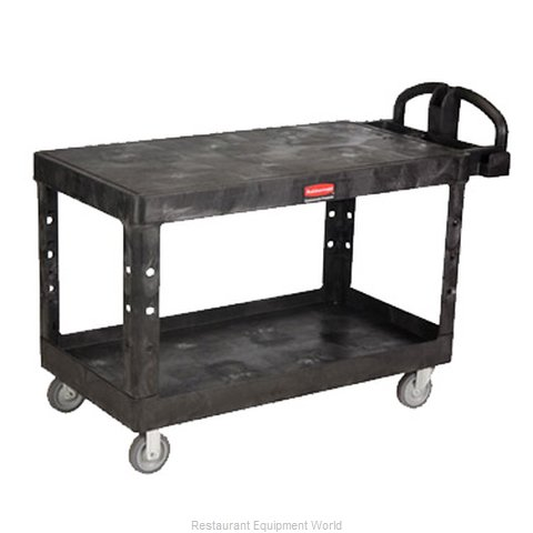 Rubbermaid FG454500BLA Utility Cart (Magnified)