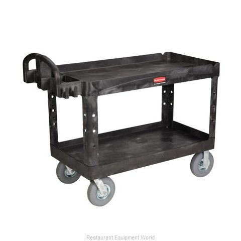 Rubbermaid FG454600BLA Cart, Transport Utility (Magnified)
