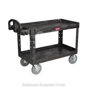 Rubbermaid FG454600BLA Cart, Transport Utility
