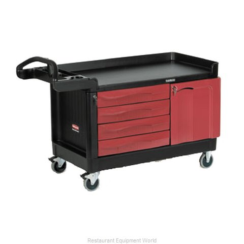 Rubbermaid FG454888BLA Cart, Maintenance