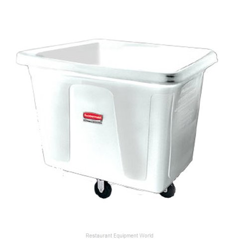 Rubbermaid FG460800WHT Cube Truck, Mobile