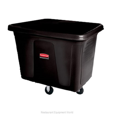 Rubbermaid FG461200BLA Cube Truck, Mobile (Magnified)