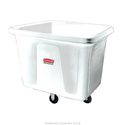 Rubbermaid FG461200YEL Cube Truck Mobile