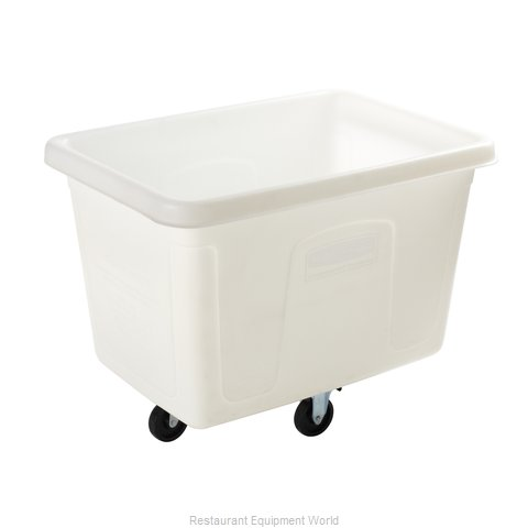 Rubbermaid FG461400WHT Cube Truck Mobile (Magnified)
