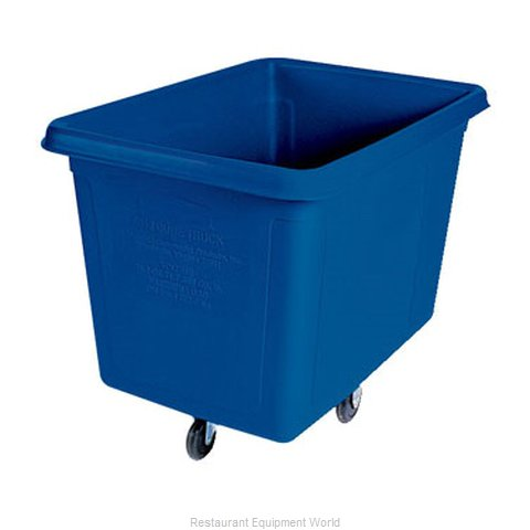 Rubbermaid FG461600DBLUE Cube Truck, Mobile