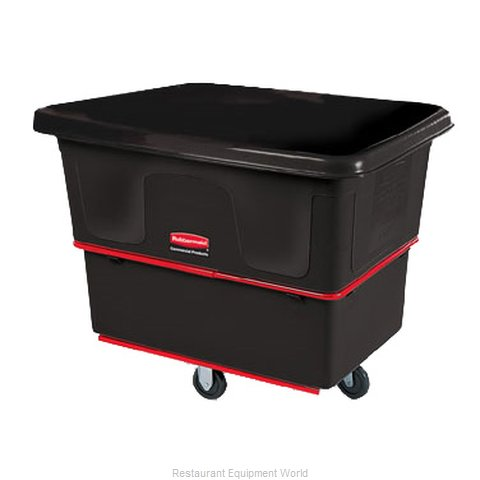 Rubbermaid FG471200BLA Cube Truck, Mobile (Magnified)