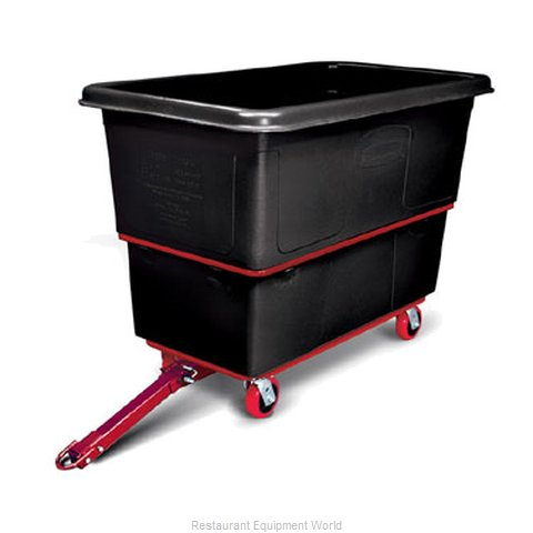 Rubbermaid FG472741BLA Cube Truck, Mobile