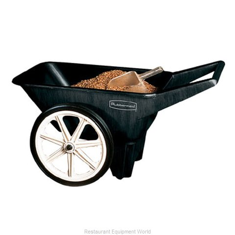 Rubbermaid FG565461BLA Lawn Carts (Magnified)