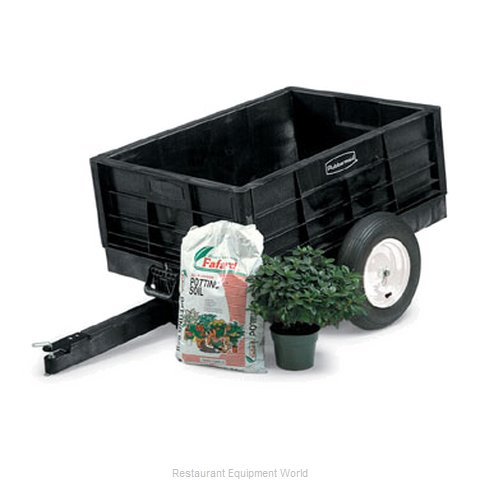 Rubbermaid FG566261BLA Lawn Carts