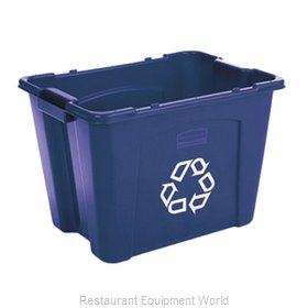 Rubbermaid FG571473BLUE Recycling Receptacle / Container