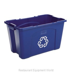 Rubbermaid FG571873BLUE Recycling Receptacle / Container