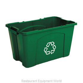 Rubbermaid FG571873GRN Recycling Receptacle / Container